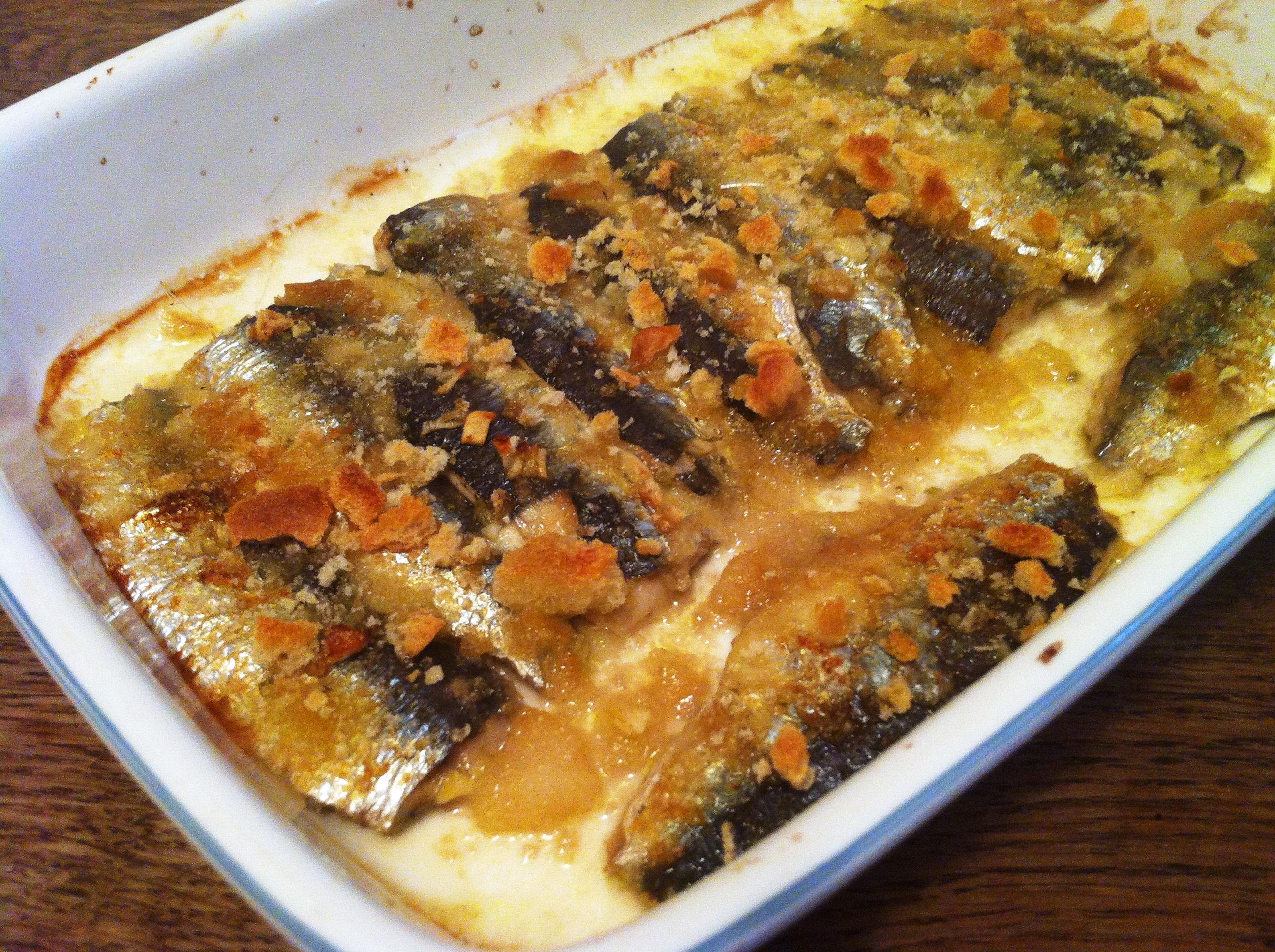 Gratin de sardine l ail et au citron recette - Blog cuisine sicilienne ...