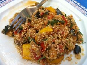 Ratatouille au quinoa envie de cuisiner for Cuisiner quinoa