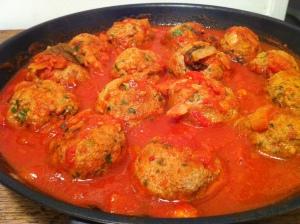 Polpette de viande la sauce tomate envie de cuisiner for Viande a cuisiner