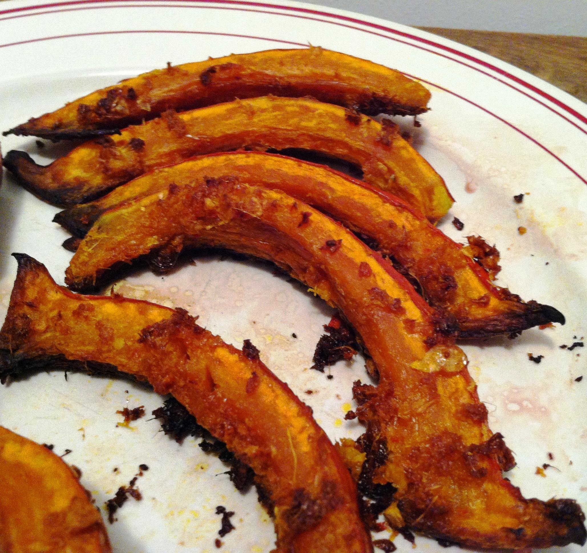 Potimarron roti au four selon jamie oliver envie de cuisiner - Cuisiner un roti de boeuf au four ...