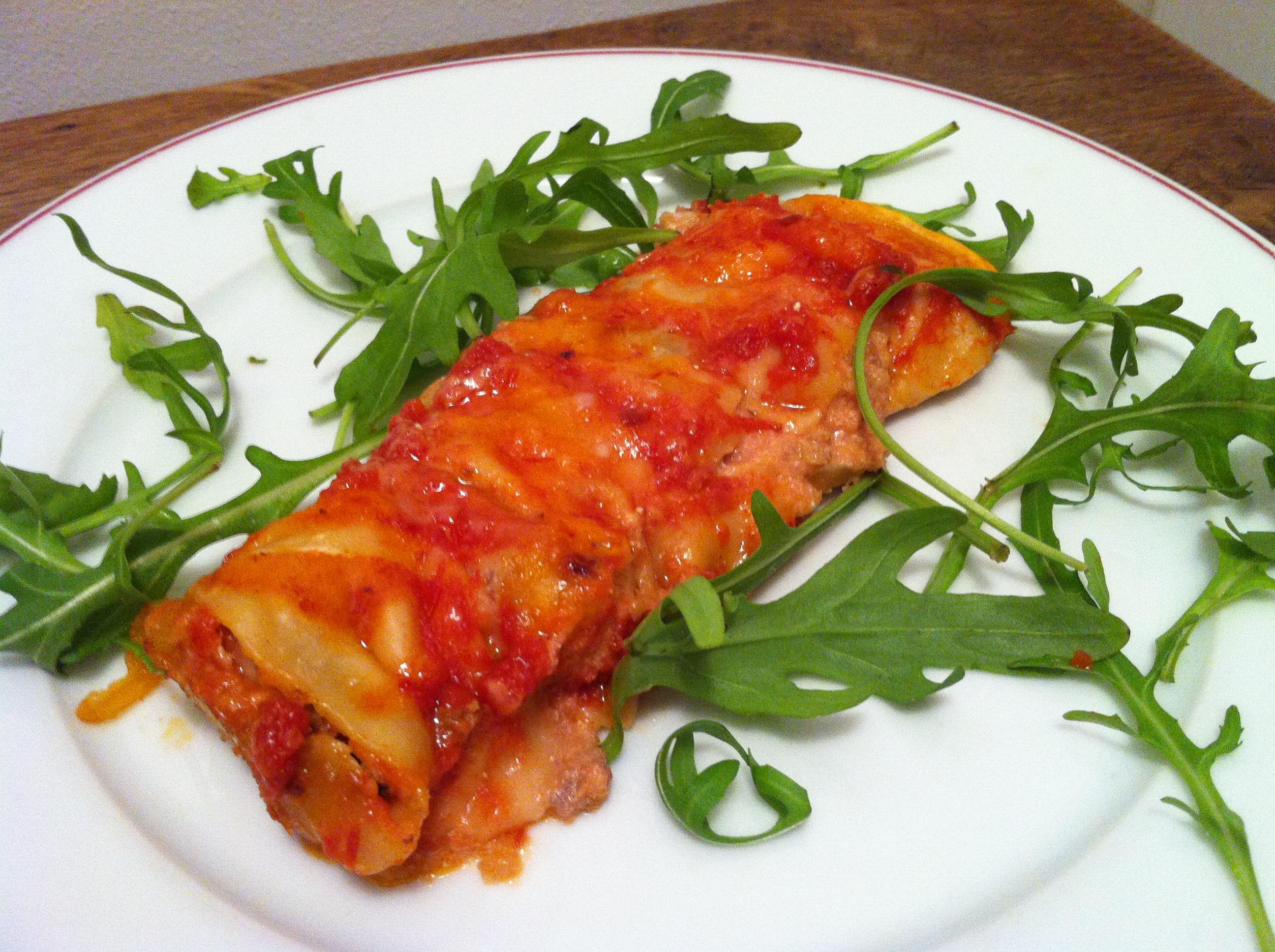 Cannelloni la mode de sorrente envie de cuisiner - Cuisine italienne cannelloni ...