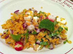 Salade De Lentilles Corail La Feta Envie De Cuisiner