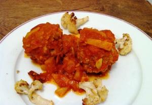 Keftas de b uf au choux fleur envie de cuisiner - Cuisiner le coeur de boeuf ...