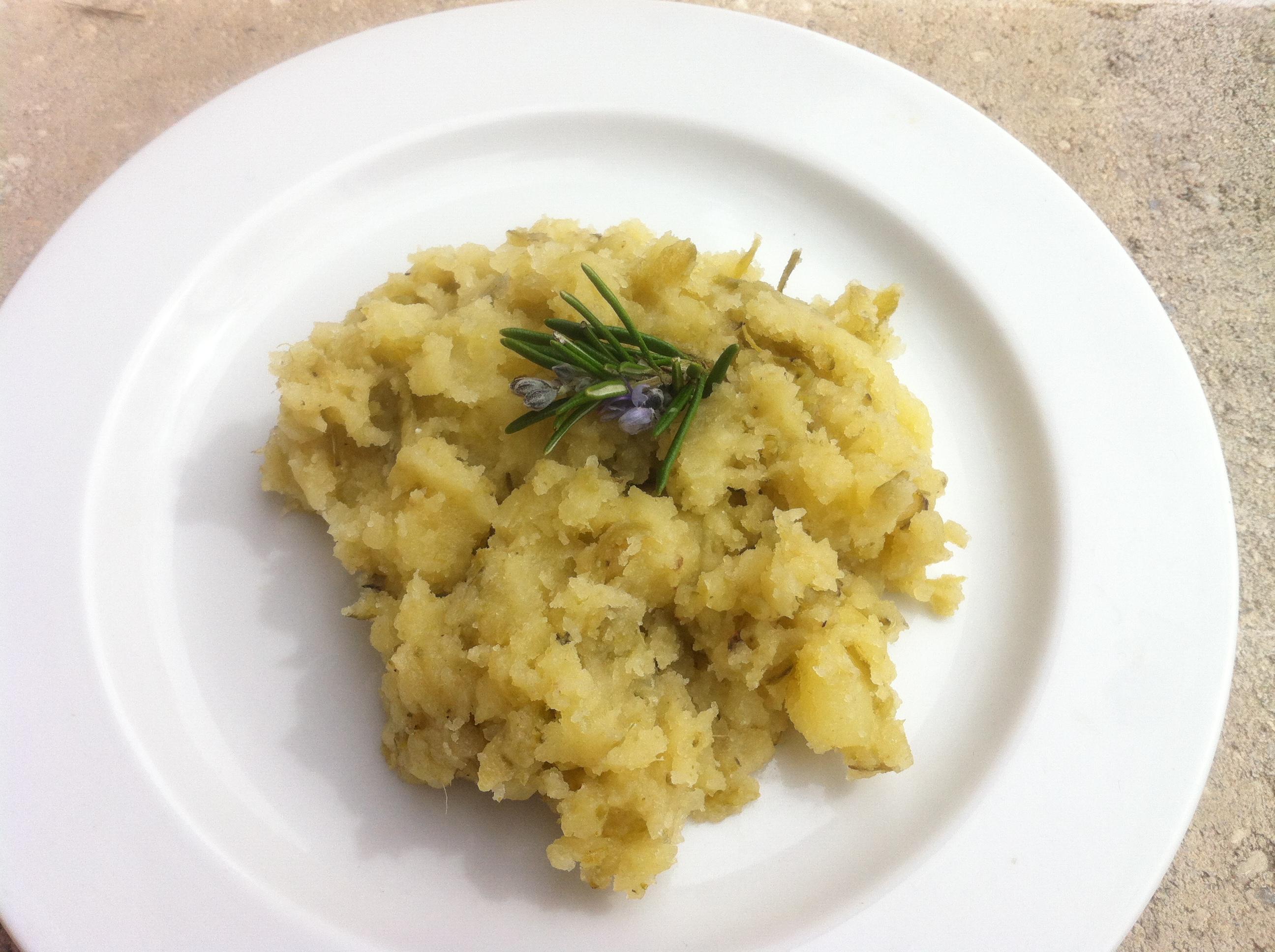 Pur e de pomme de terre et cosse de f ve envie de cuisiner - Cuisiner les feves fraiches ...