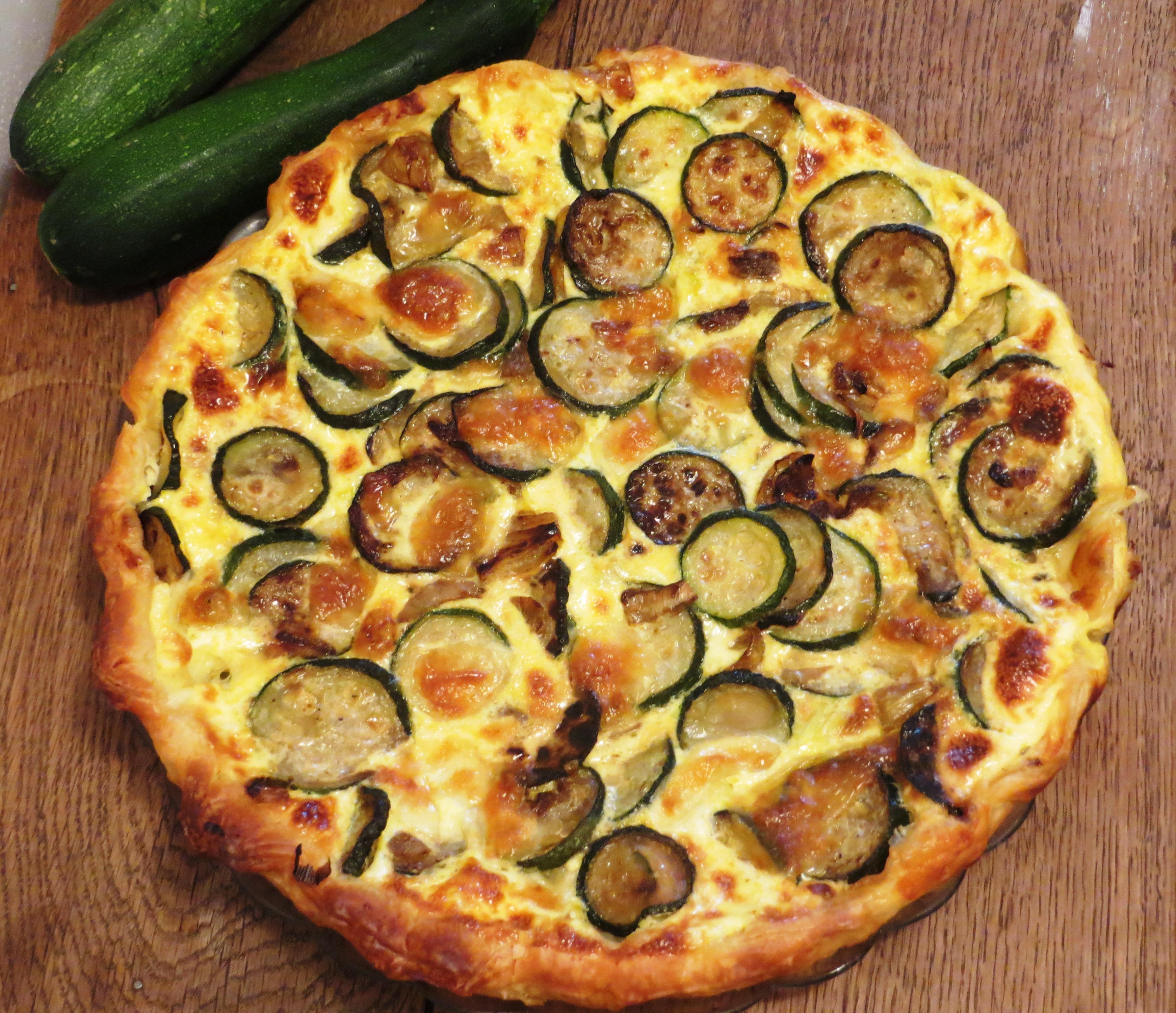Quiche aux courgettes et la mozzarella envie de cuisiner - Cuisiner la mozzarella ...