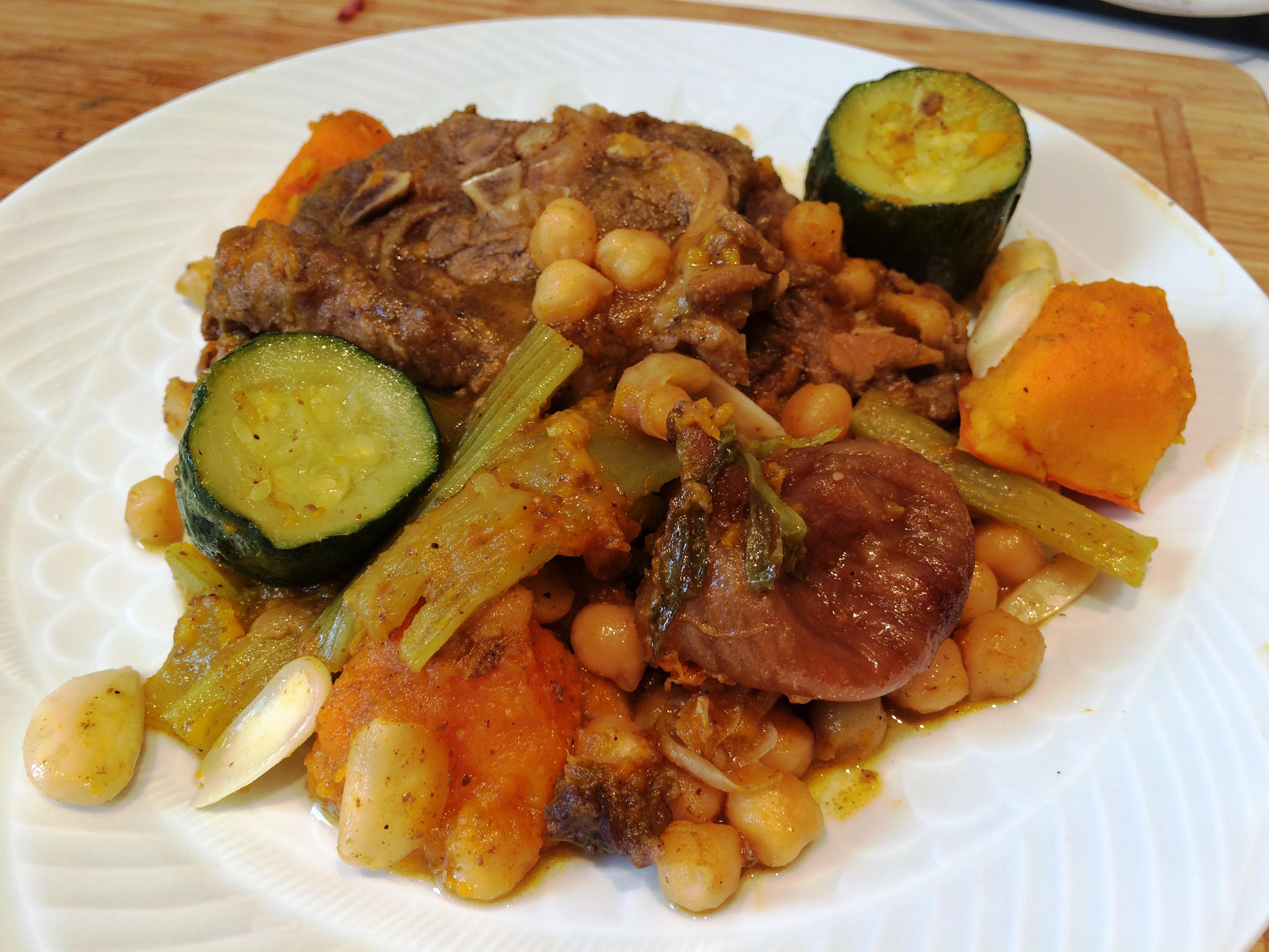 Tajine d agneau aux figues et aux courgettes envie de cuisiner - Cuisiner une epaule d agneau ...