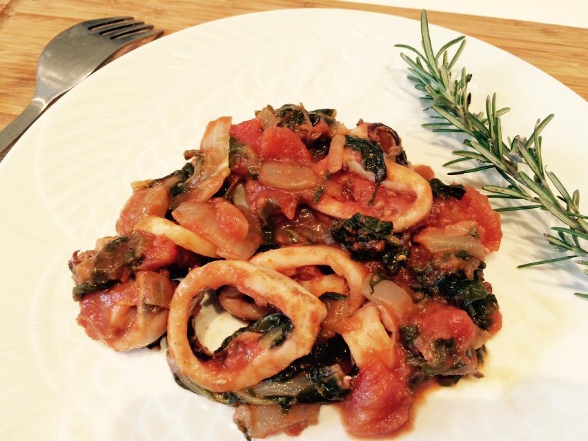 Encornets aux bettes envie de cuisiner - Cuisiner des encornets ...