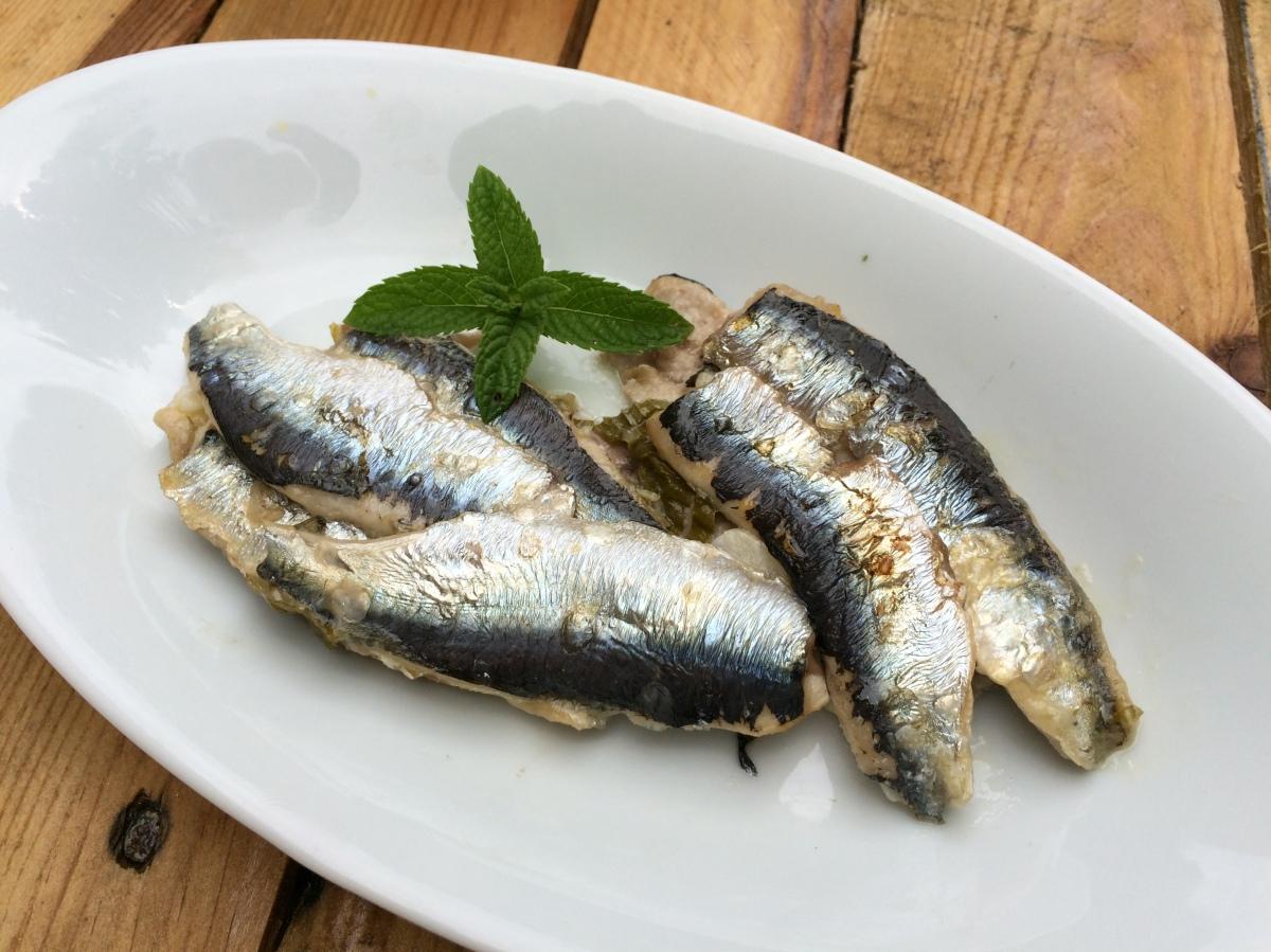 Sardines la menthe ail et citron envie de cuisiner - Sardines au four sans odeur ...